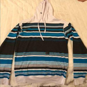 Billabong light weight hoodie men's small